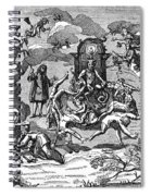 Satan With Cavorting Dancers, 18th Spiral Notebook