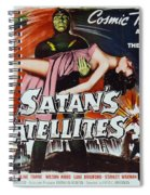 Satan's Satellites Spiral Notebook