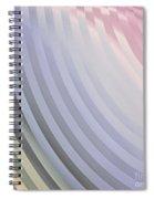 Satin Movements Lavender Spiral Notebook
