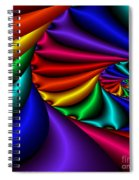 Satin Rainbow Spiral Notebook