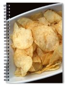 Satisfy The Craving With Chips And Dip Spiral Notebook