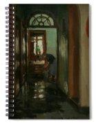 Saturday  An Interior View Of Garstin's Home  Spiral Notebook