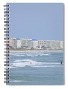 Saturday At The Beach Spiral Notebook