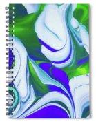 Saturday Might Spiral Notebook