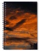 Saturday Sunset Spiral Notebook
