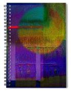Saturn Lavender Spiral Notebook