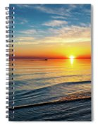 Sauble Beach Sunset 4 Spiral Notebook