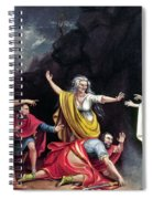 Saul & Witch Of Endor Spiral Notebook