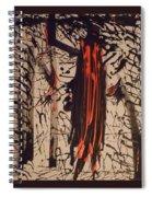 Savage Orange Spiral Notebook