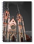 Savanna Georia Church Color Infrared 74 Spiral Notebook