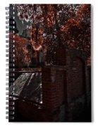 Savanna Georia Colonial Park Cemetery Color Infrared 500 Spiral Notebook
