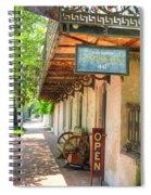 Savannah Antique Shop Spiral Notebook