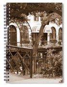 Savannah Arches In Sepia Spiral Notebook