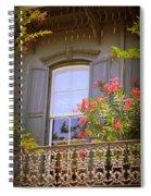 Savannah Balconies II Spiral Notebook