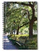 Savannah Benches Spiral Notebook