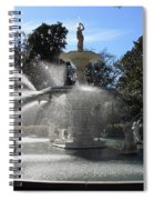 Savannah Fountain Spiral Notebook