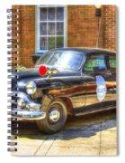 Savannah Police Car 1953 Chevrolet  Spiral Notebook