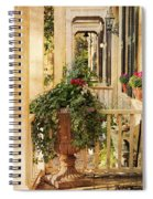 Savannah Porch Spiral Notebook