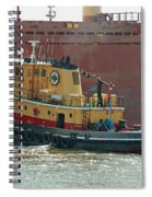 Savannah River Tug Spiral Notebook