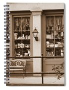 Savannah Sepia - Antique Shop Spiral Notebook