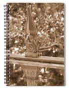 Savannah Sepia - Finials Spiral Notebook