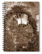 Savannah Sepia - Lovely Lamp Spiral Notebook