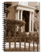 Savannah Sepia - Mercer House Spiral Notebook