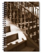 Savannah Sepia - Stairs Spiral Notebook