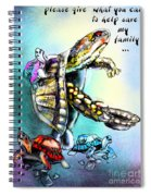 Save My Family Spiral Notebook