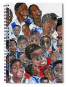 Save The Children Spiral Notebook