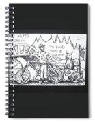 Saved By Dog Spiral Notebook