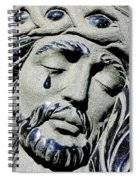 Saviours Sorrow Spiral Notebook