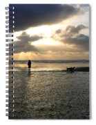 Savoring The Moment Spiral Notebook