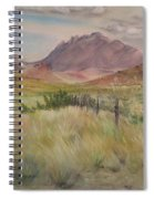 Saw Tooth Mountain Spiral Notebook