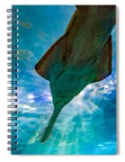 Sawfish Spiral Notebook