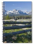 Sawtooth Range Spiral Notebook