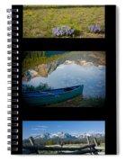 Sawtooth Trio Spiral Notebook