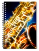 Saxophone 2 Spiral Notebook