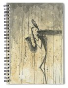 Saxophone A Series Of Works  Spiral Notebook