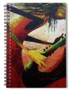 Saxophonist  Spiral Notebook