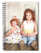 Sayler And Tayzlee Spiral Notebook