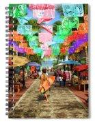 Sayu Flags 2 Spiral Notebook