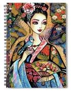 Sayuri Spiral Notebook