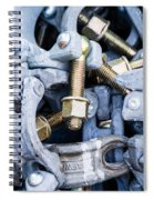 Scaffold Clamps Spiral Notebook