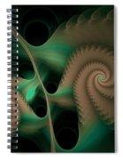 Scaloped Collossa Salvae Spiral Notebook