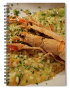 Scampi Risotto Spiral Notebook