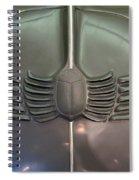 Scarab Hood Spiral Notebook
