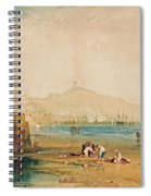 Scarborough Town And Castle Spiral Notebook