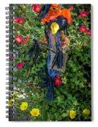 Scare Bird Spiral Notebook