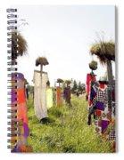 Scarecrows Spiral Notebook